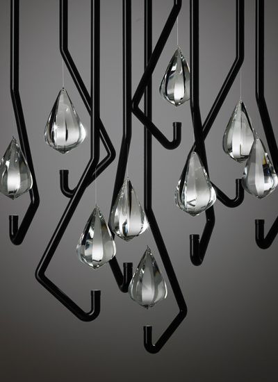 One Crystal Chandelier